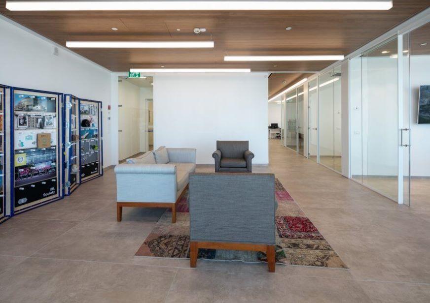 Screenball ceiling - תקרה רציפה לא פריקה