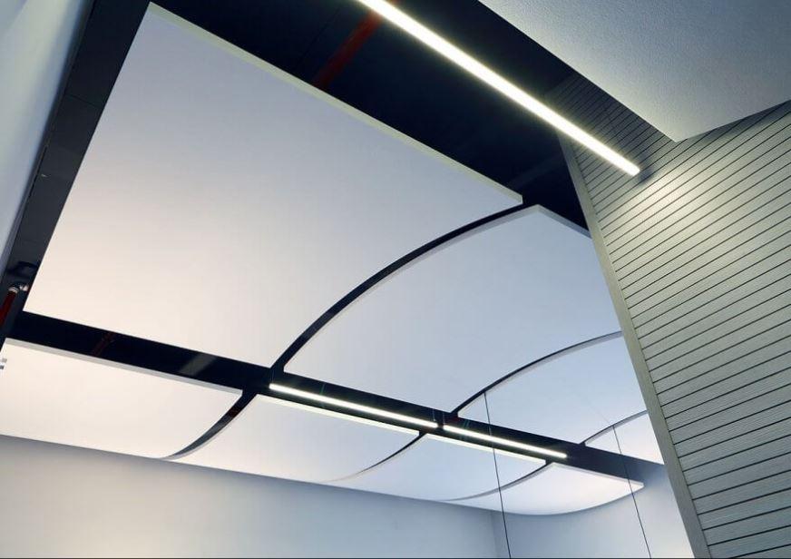 Optima Curved Canopy- אלמנט מקושת