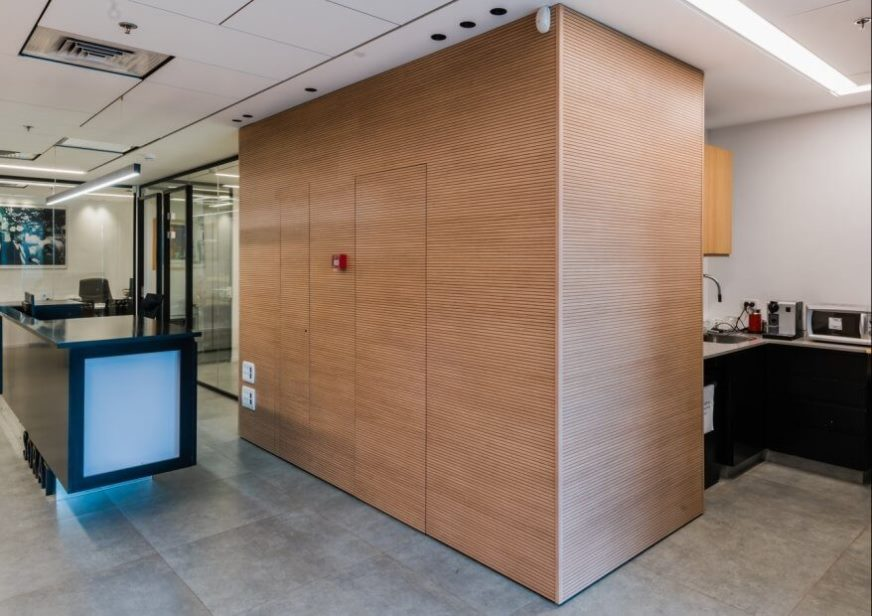 Screenball Wall - חיפוי קיר רציף
