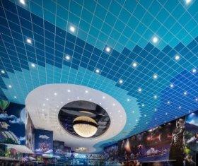 סינמה סיטי באר שבע- תכנון: מרש אדריכלים-אריח מונח