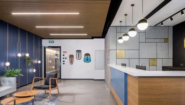 משרדי בינימיני ושות' - תקרת Euroline