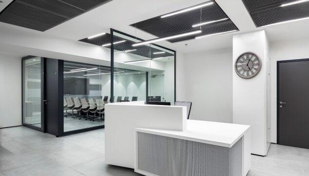 משרדי הסתדרות תקרה מדגם Deltaline