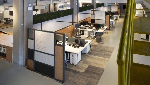 משרדי טייטו - מחיצות EchoShape