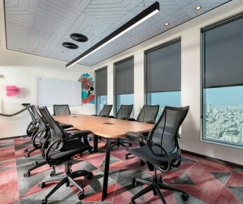 משרדי-לושה-תקרה-מחורצת-בהדבקה-EchoShape-2