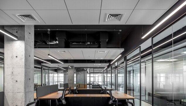 משרדי מפטגון - תקרת Focus Dg  Edge 500