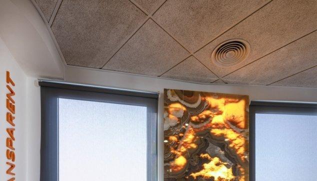 משרדי חברת Chegg -  תקרת Troldtekt