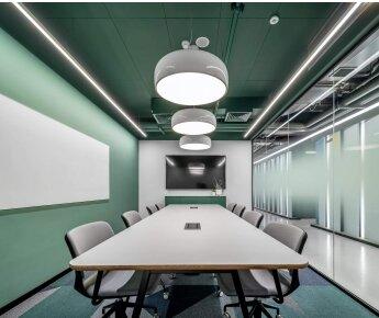 תקרה בהדבקה - משרדי הרמן ישראל, תכנון - סטוידו BA , צילום- יואב פלד