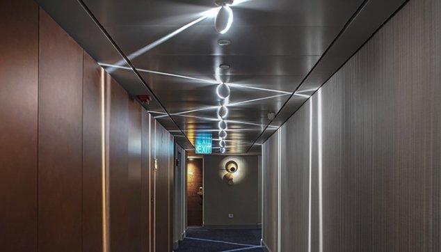 מלון קרלטון -  Hook On Corridor
