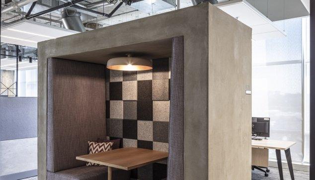 משרדי נובה - Cube - אריחים צורניים