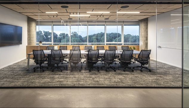 משרדי נובה - חצי שקוע  Troldtekt K0-FS