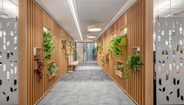 משרדי בוטומליין - Deltaline - מערכת למלות פריקה